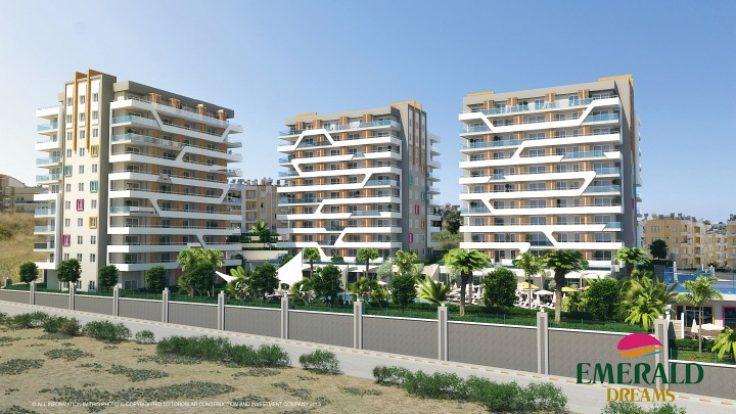 Недвижимость в Турции   по всему побережью Анталии