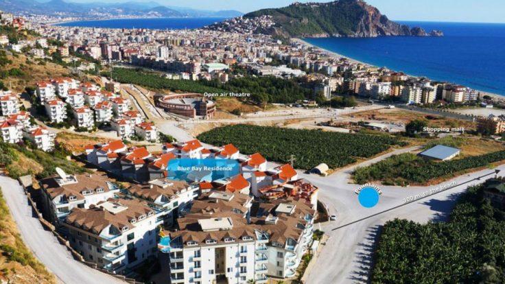 Zimmer mit eigenem Bad – Wohnungen zur Miete in Alanya