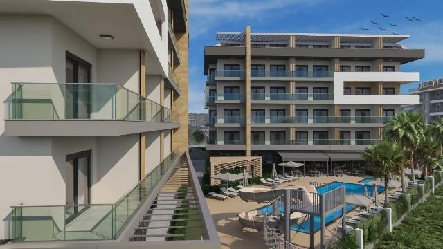 1 Neubau Wohnungen: Moderne Wohnungen in Oba Alanya